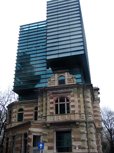 Another interesting building in Bucharest