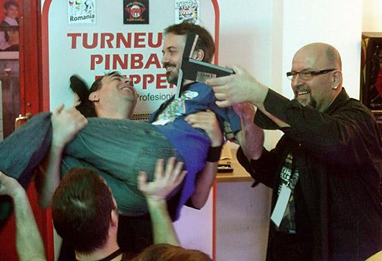 Winner of the Romanian Pinball Open 2015 - Ollivier Francq