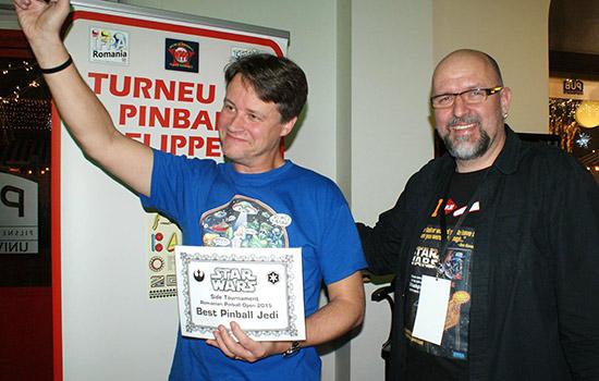 The Best Pinball Jedi was Lieven Engelbeen