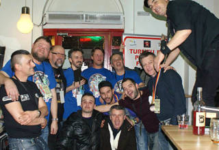 Players at the Romanian Pinball Open 2015
