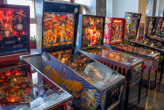 '80s Tournament machines