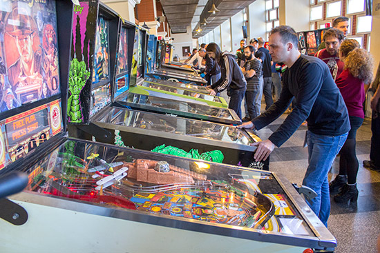 Play in the Romanian Pinball Open qualifying