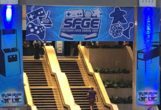 The Southern Fried Gaming Expo show banner