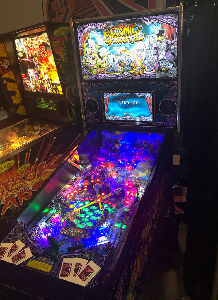 Cosmic Carnival from Suncoast Pinball