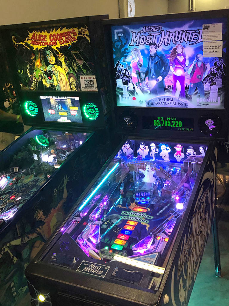 Alice Cooper's Nightmare Castle and America's Most Haunted by Spooky Pinball