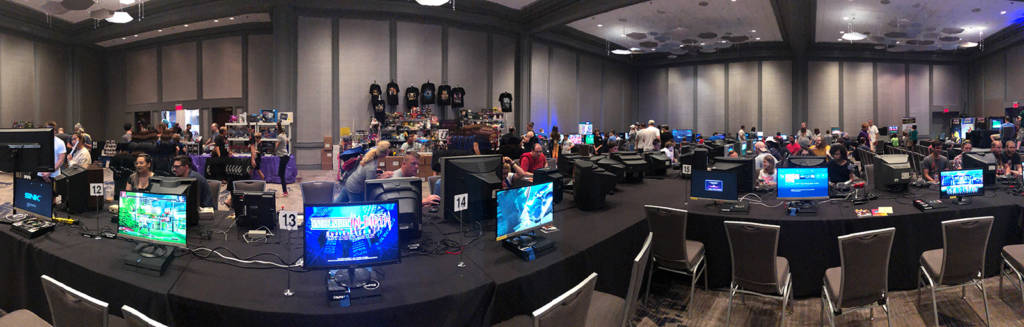 Console gaming at the SFGE 2019