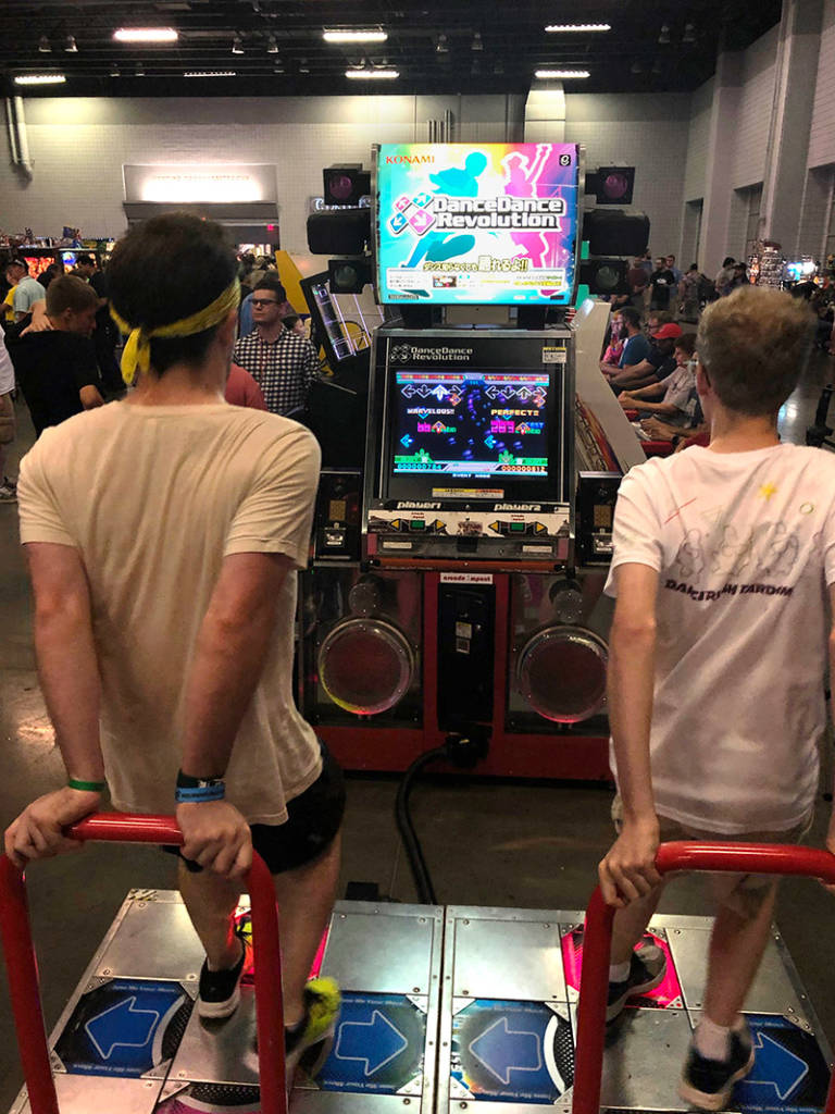 Getting ready for some DDR