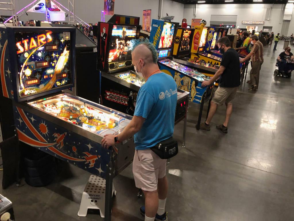 More pinballs at SFGE 2021