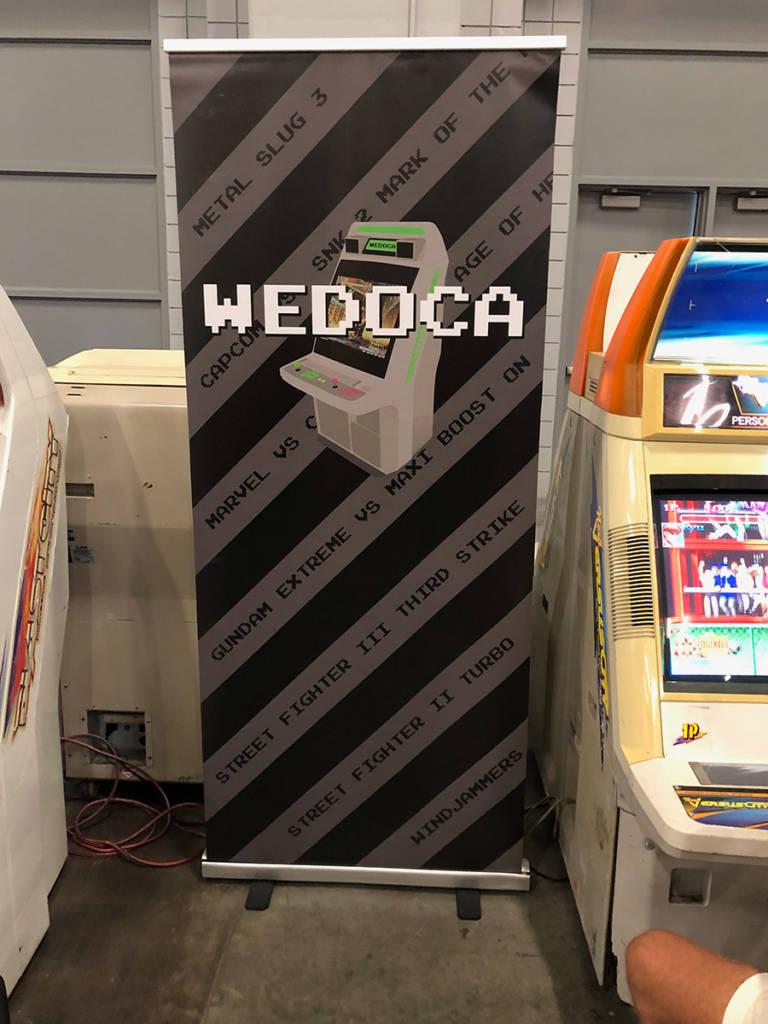 The Wedoca stand