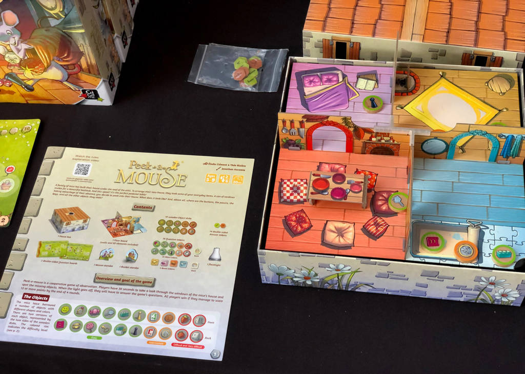 Some of the table-top games