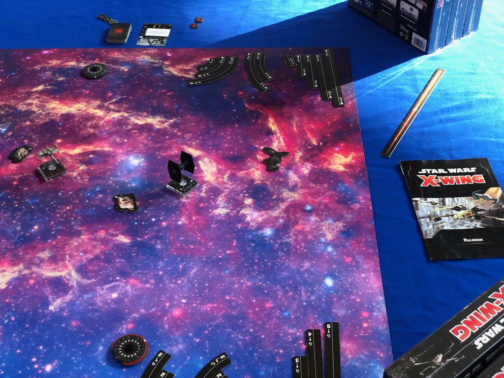 When it comes to table top games, Do or do not. There is no try.