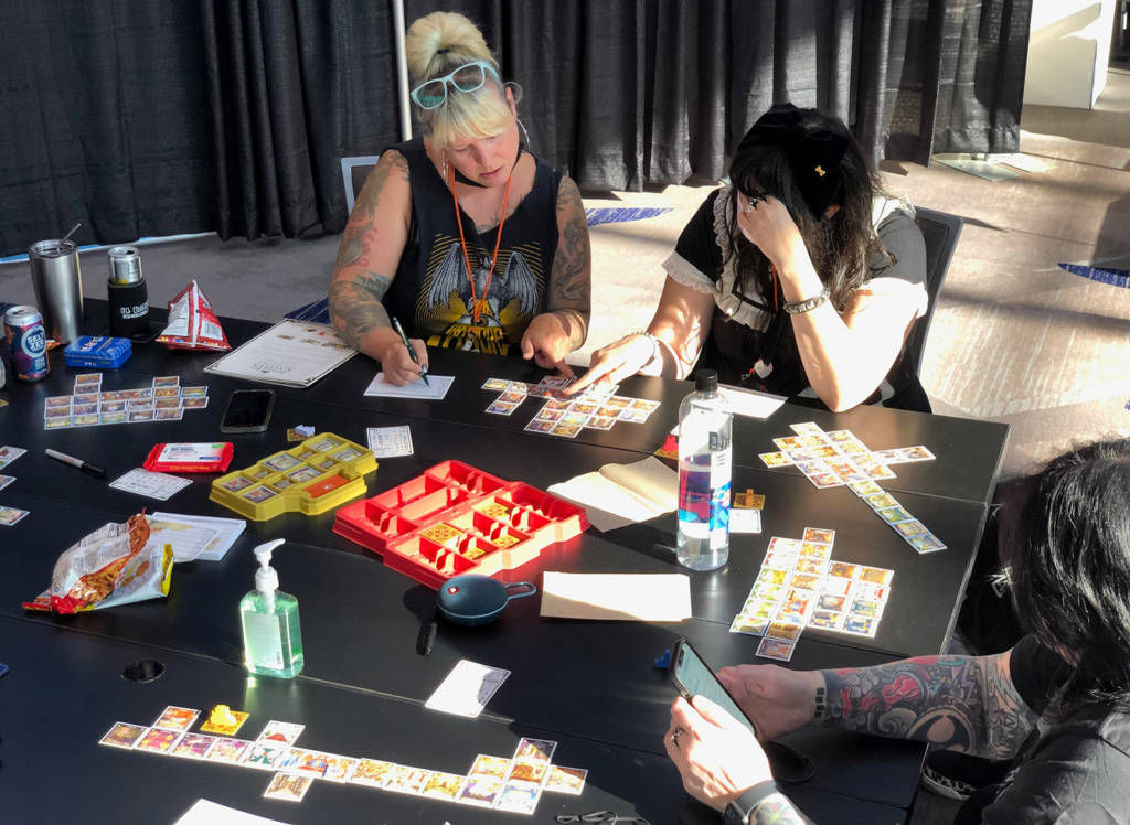 Playing some of the table-top games