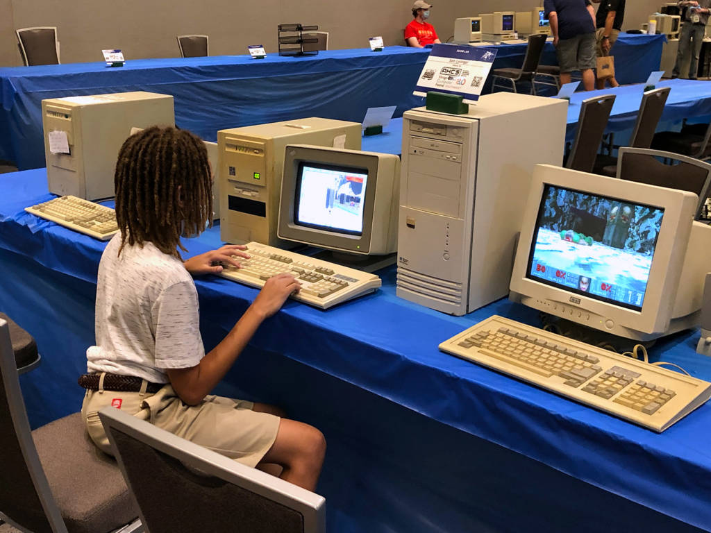 More classic computer gaming
