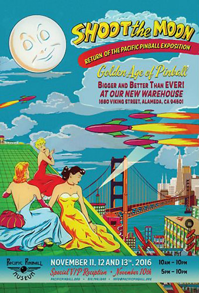 The poster announcing the show