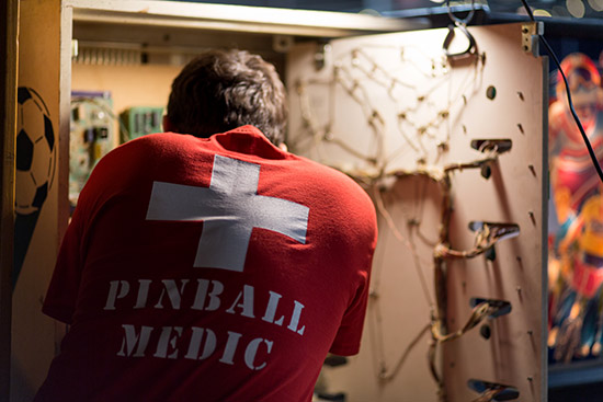 Pinball Medic applies a cure