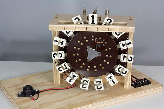 Mark Gibson's Roto Target demonstration board. Photo courtesy of Mark Gibson