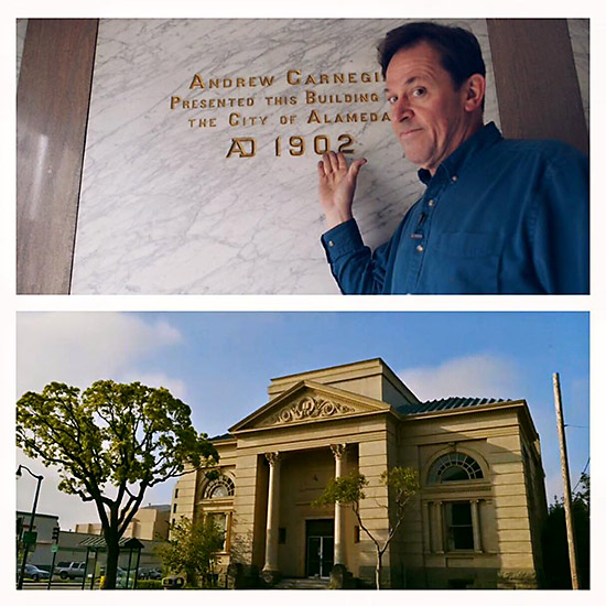 The Alameda Carnegie Library is never far from the mind of PPM Founder Michael Schiess! PPM Archives