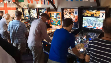 Practice for the UK Pinball Cup