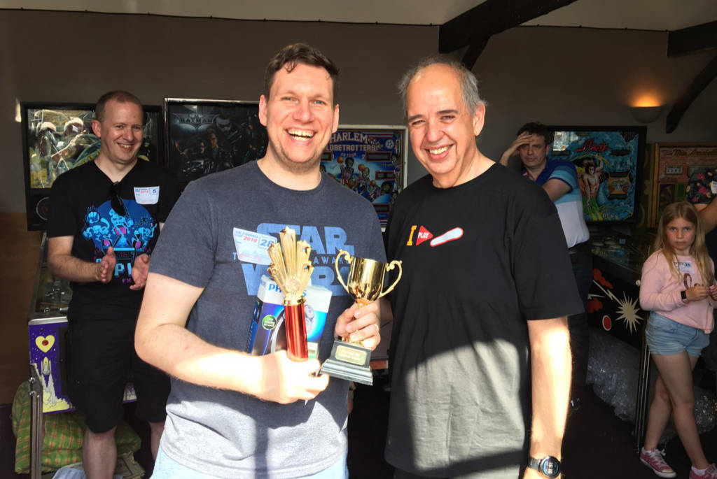 Winner of the UK Pinball Cup 2019, James Adams