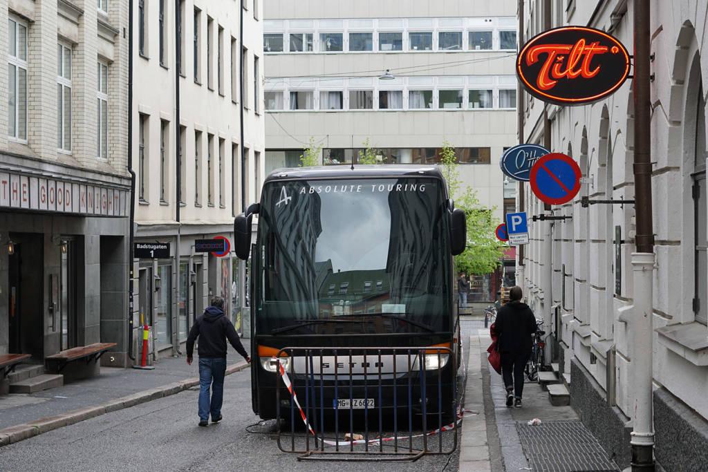 Tilt in the centre of Oslo