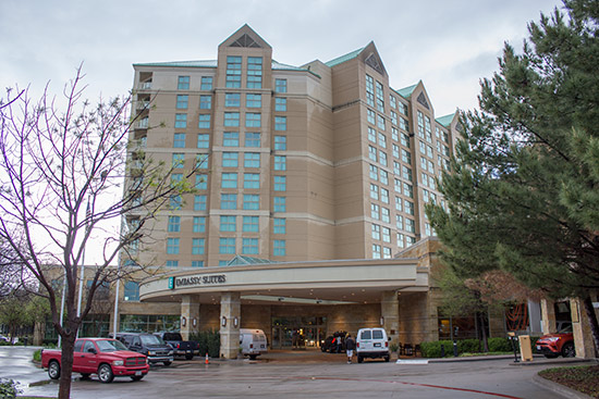 The Embassy Suites in Frisco