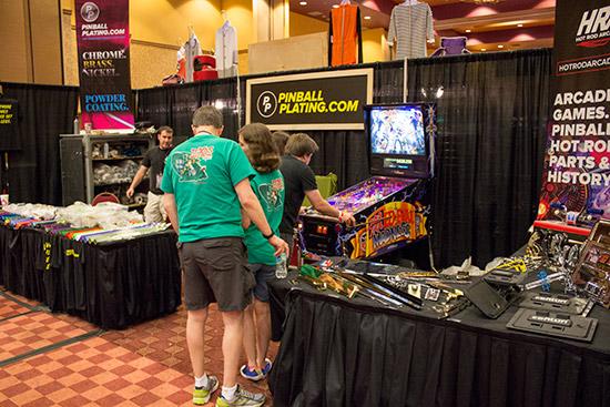 Pinball Plating has lots of shiny and vivid pinball trim parts