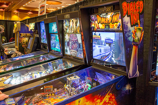 KingPin Games had two Dialed In! games which were in constant demand