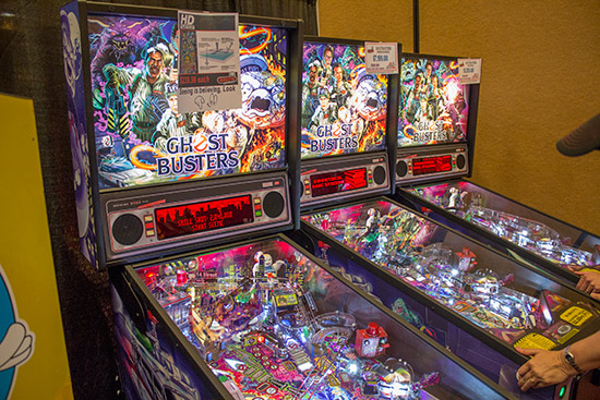 Fun! were also showing the new Stern Pinball HD anti-glare glass