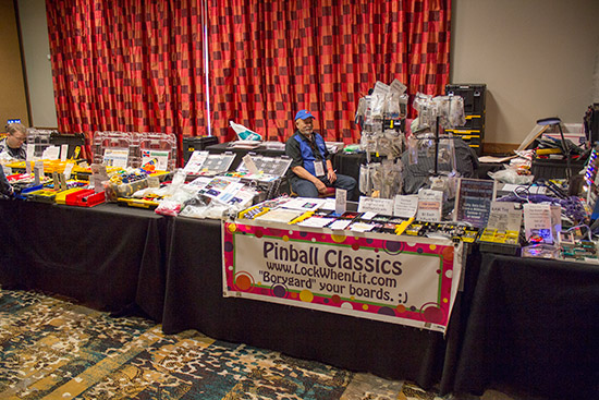 Rob Anthony's Pinball Classics room