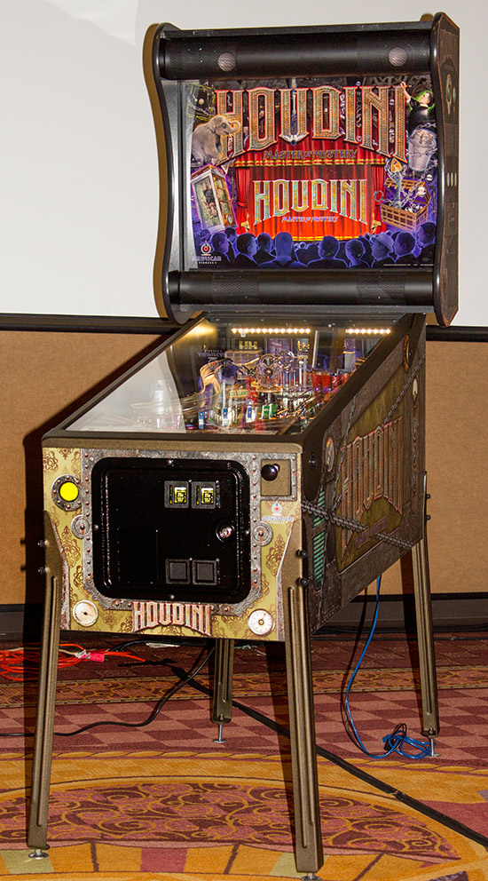 Houdini at the Texas Pinball Festival 2017