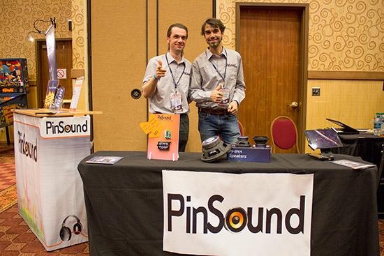 Nicolas and Timothie Manaud from Pinsound