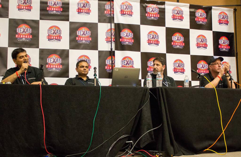 Mukesh Versani, Dhaval Vasani, Josh Kugler and Joe Balcer
