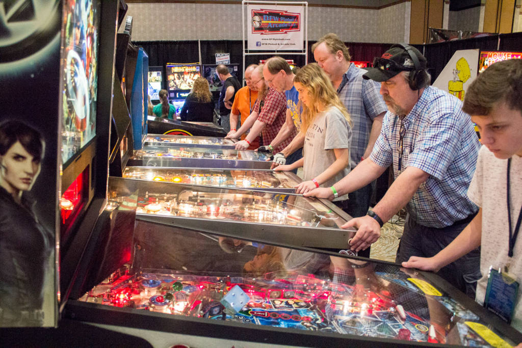 More of the DFW Pinball & Arcade Club's machines