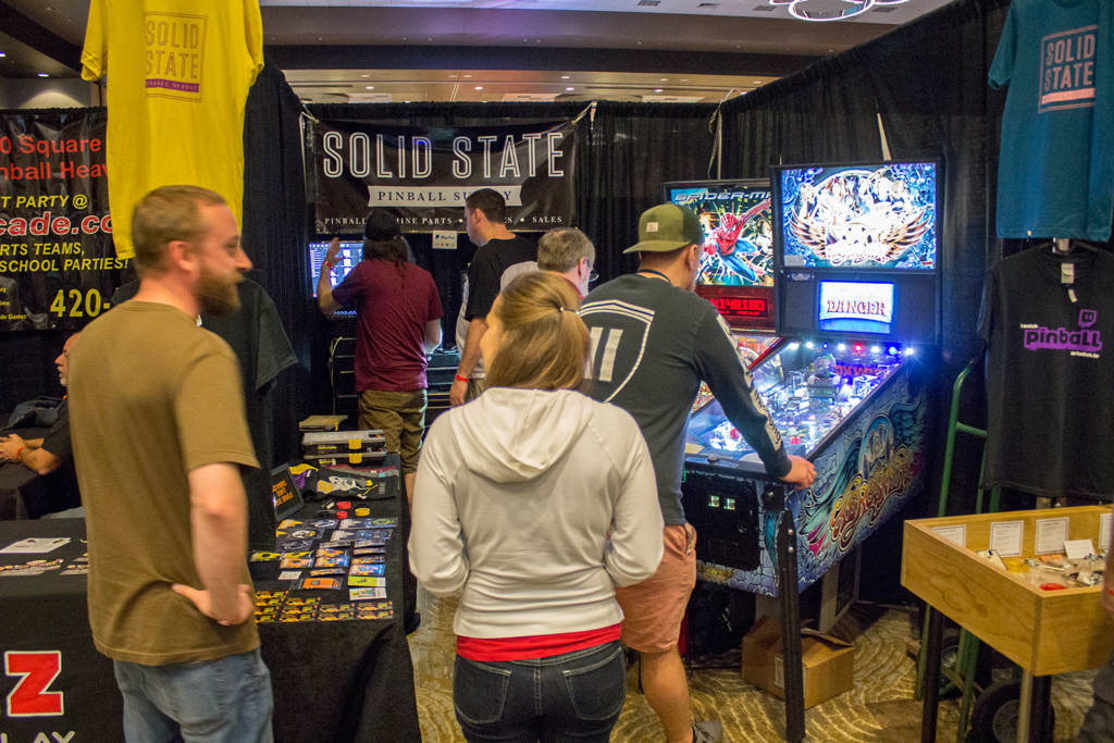 Solid State Pinball Supply is a real parts store located in Kansas City