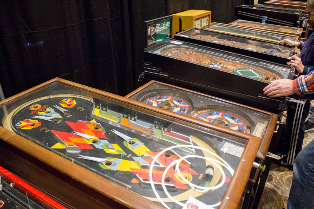 The History of Pinball exhibit is always both popular and astonishing