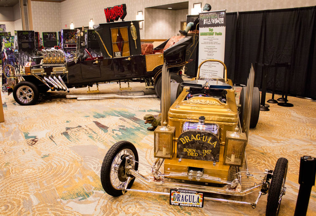 Dragula, one of two The Munsters vehicles