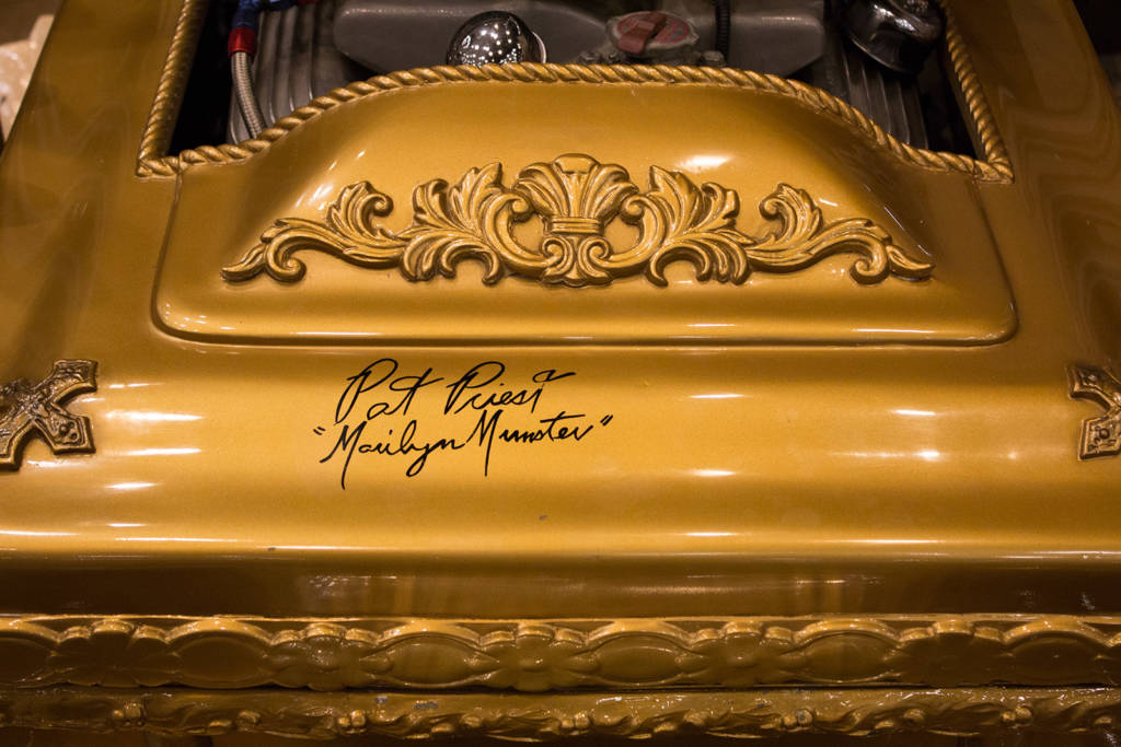 The Dragula car has been signed by Pat Priest who will also be at the show