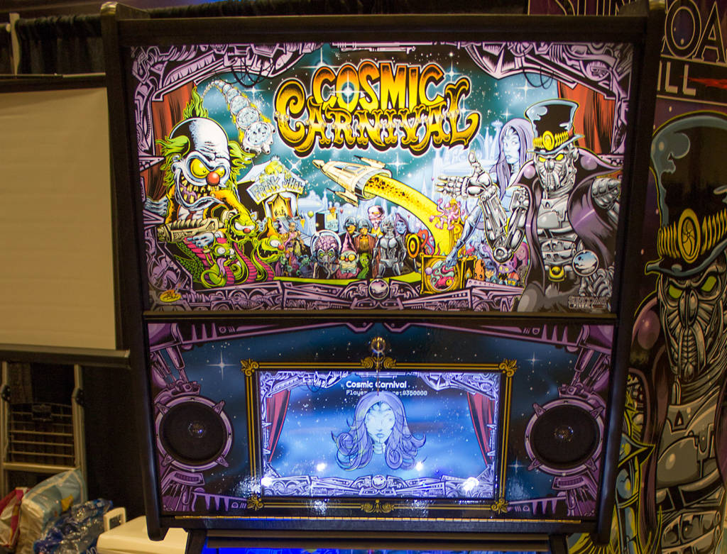 The Cosmic Carnival backbox
