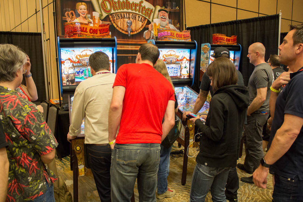 American Pinball's Oktoberfest games were in high demand