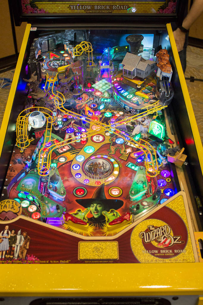 The Yellow Brick Road Limited Edition playfield
