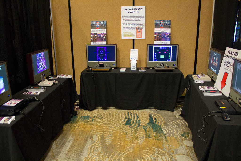 The National Video Game Museum has a stand at the TPF