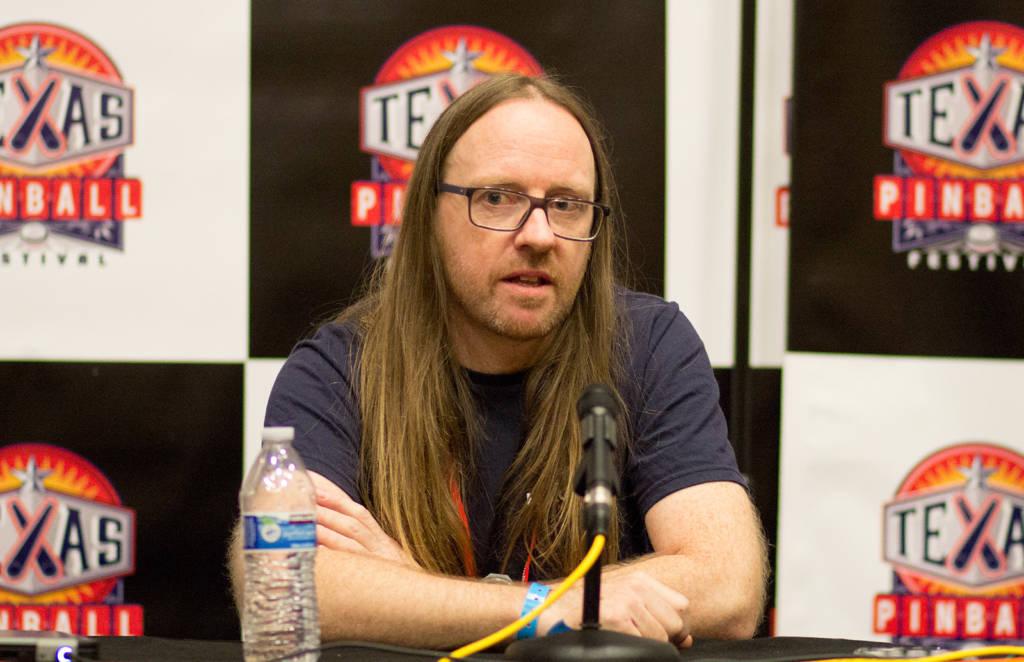Damian Hartin from Haggis Pinball