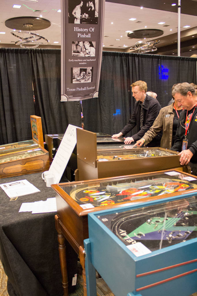 The History of Pinball exhibit