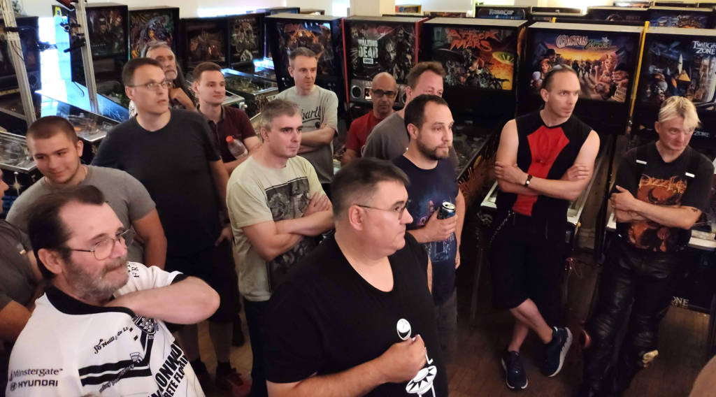 Forty players were pre-registered for Wednesday's Flip Frenzy