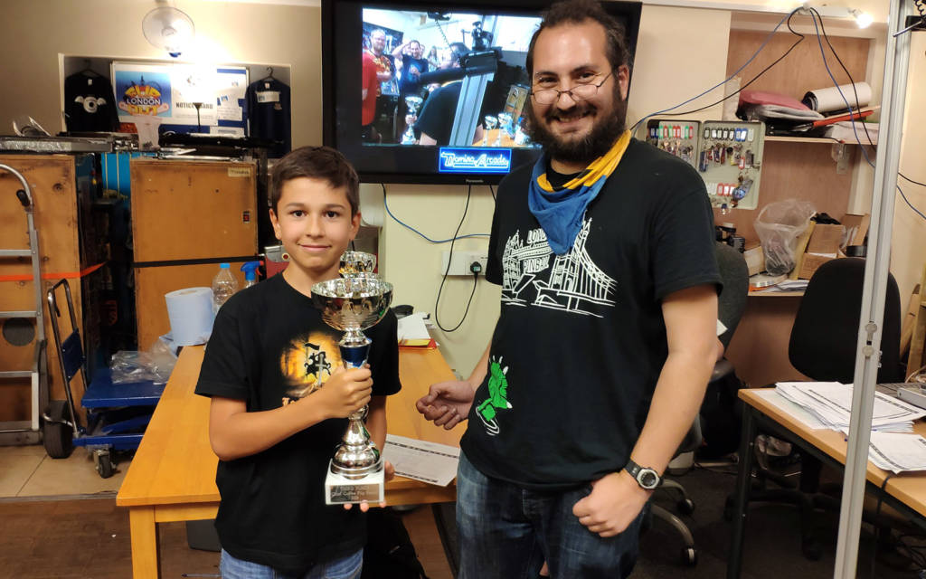 Third place, Hugo Ritter
