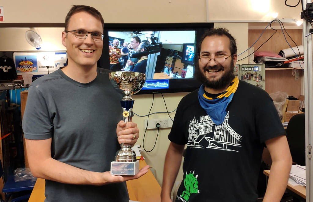 Winner of the Flip Frenzy, Nick Marshall