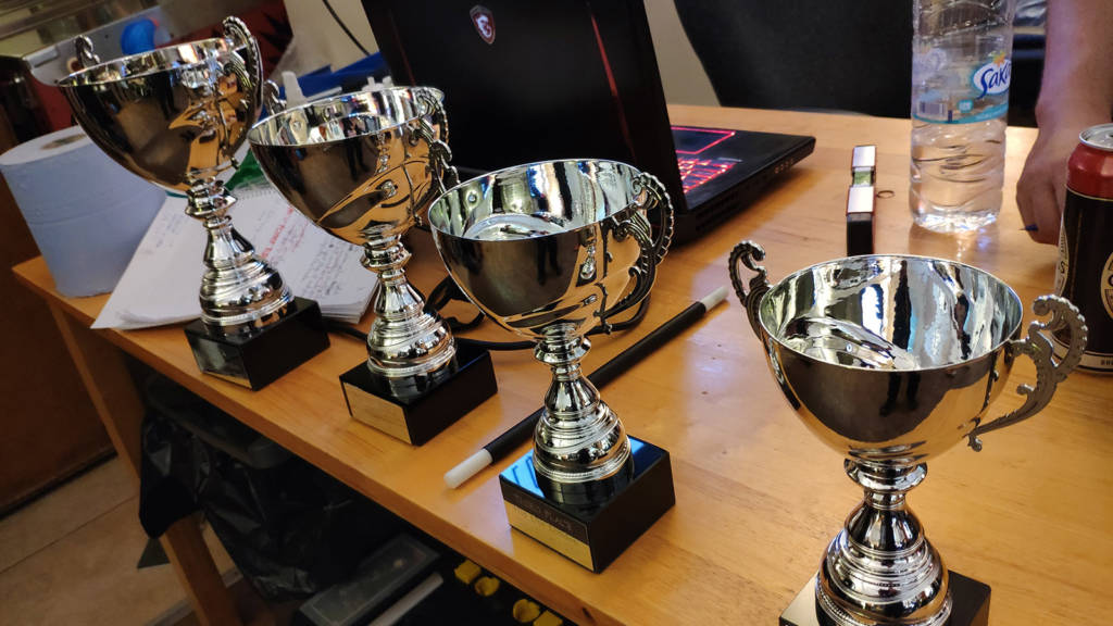 Trophies for Thursday's Super League