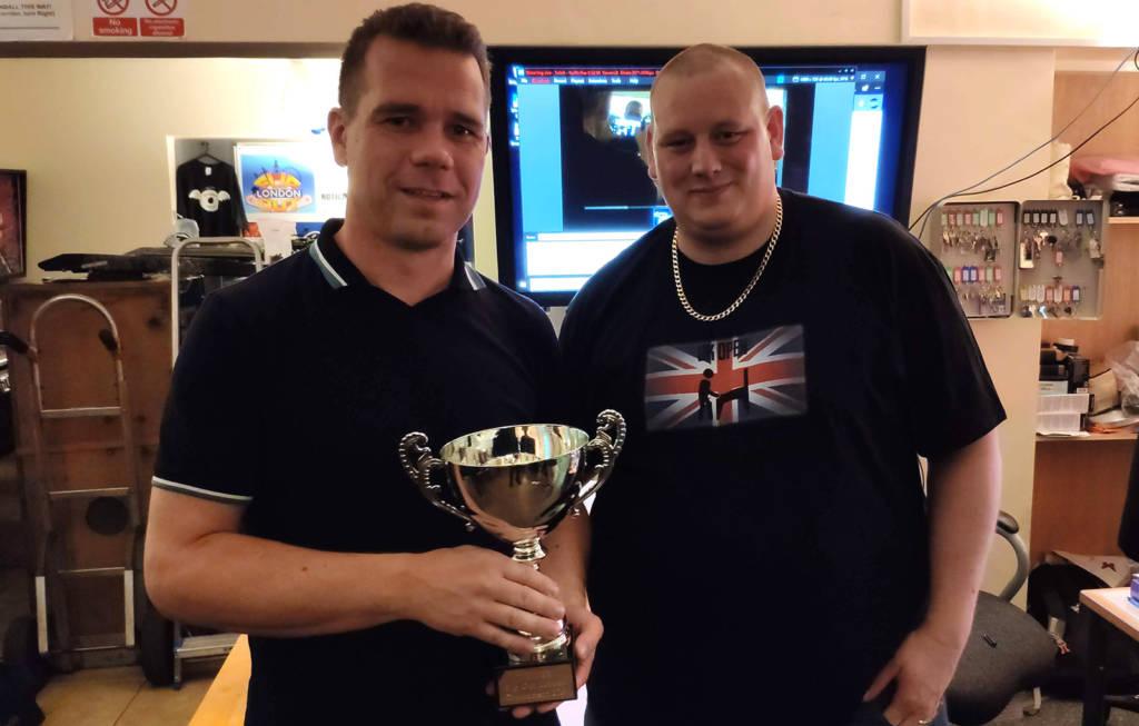 Winner of Thursday's Super League, John van der Wulp