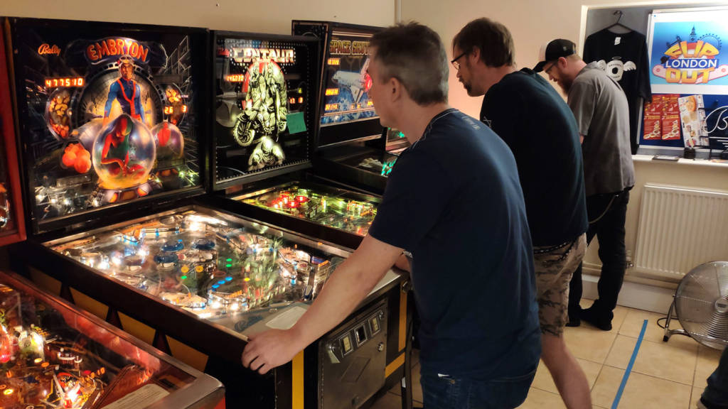 More UK Pinball Classic qualifying games