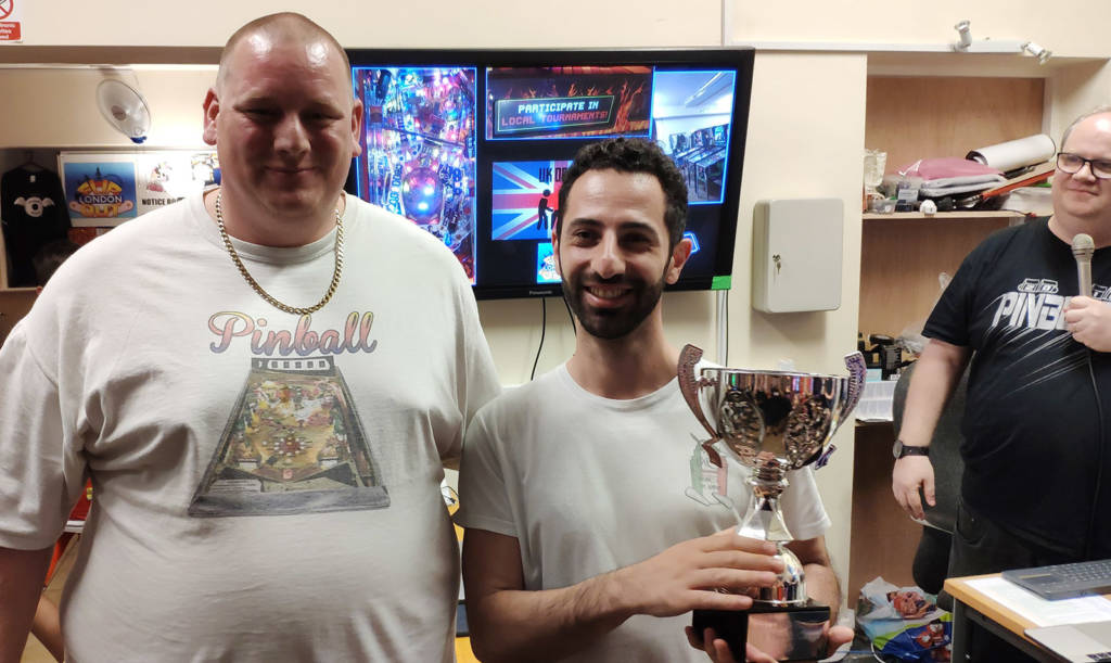 Second place, Mirko Plumari